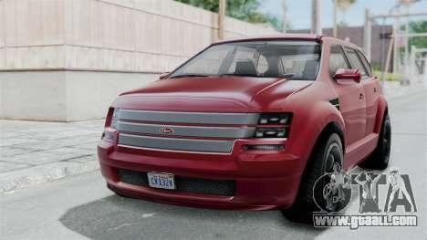 GTA 5 Vapid Radius IVF for GTA San Andreas
