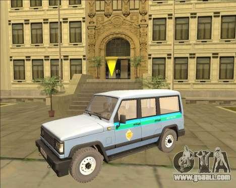 THE UAZ 3170 FSB for GTA San Andreas