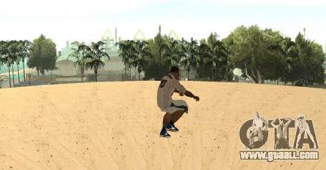 Invisibile BMX for GTA San Andreas third screenshot