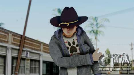 Carl Grimes from The Walking Dead for GTA San Andreas