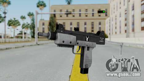 GTA 5 Micro SMG - Misterix 4 Weapons for GTA San Andreas second screenshot