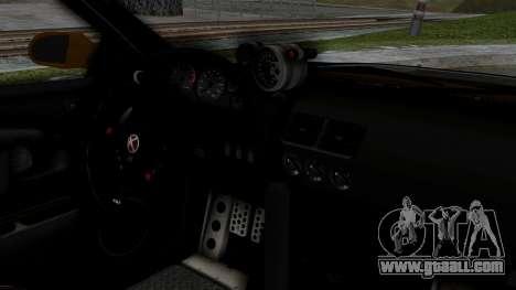 GTA 5 Karin Sultan RS Drift Big Spoiler for GTA San Andreas right view