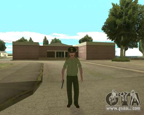 Senior warrant officer danyluk for GTA San Andreas second screenshot