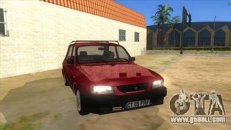 Dacia 1310L 1999 for GTA San Andreas back view