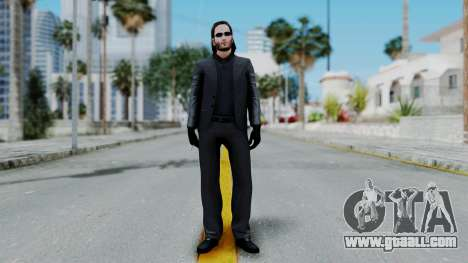John Wich - Payday 2 for GTA San Andreas second screenshot
