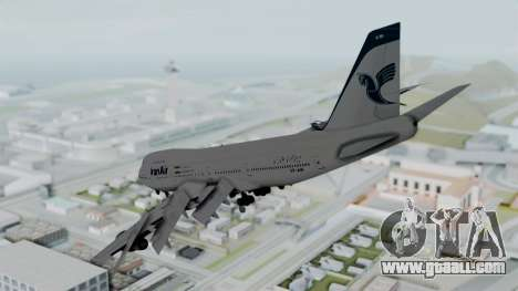 Boeing 747-186B Iran Air for GTA San Andreas left view