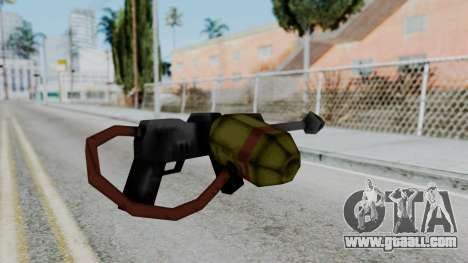GTA 3 Flame Thrower for GTA San Andreas second screenshot