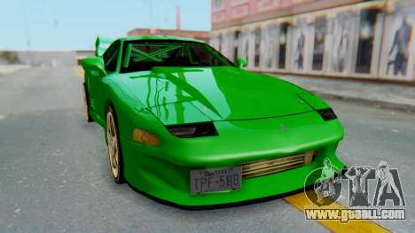 Mitsubishi GT3000 FnF for GTA San Andreas right view
