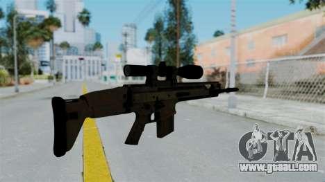 SCAR-20 v1 No Supressor for GTA San Andreas second screenshot