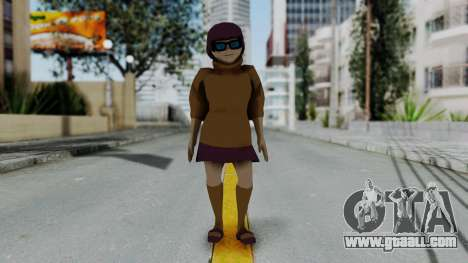 Scooby Doo Velma for GTA San Andreas second screenshot