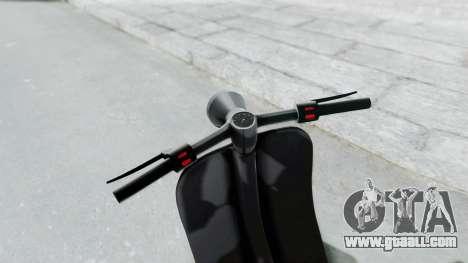 GTA 5 Principe Faggio for GTA San Andreas right view