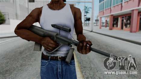 Vice City Beta Steyr Aug for GTA San Andreas third screenshot