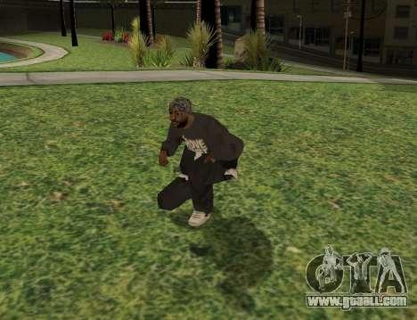 Black fam1 for GTA San Andreas third screenshot