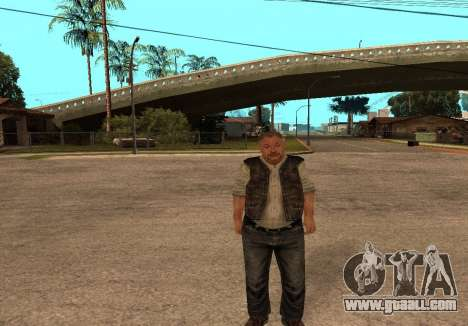 Sidorovich from S. T. A. L. K. E. R for GTA San Andreas