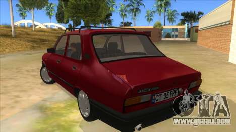 Dacia 1310L 1999 for GTA San Andreas back left view