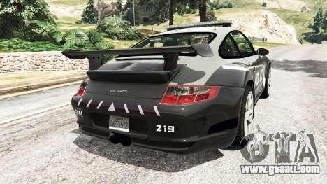 Porsche 911 GT3 RS Pursuit Edition for GTA 5