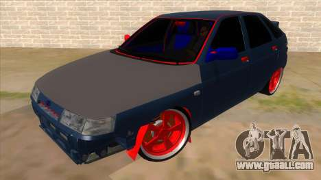 VAZ 2112 Hobo for GTA San Andreas