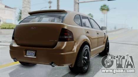 GTA 5 Vapid Radius for GTA San Andreas left view