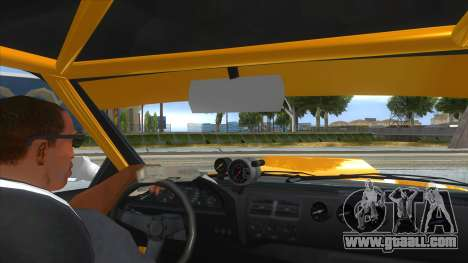 GTA V Karin Sultan RS 4 Door for GTA San Andreas upper view