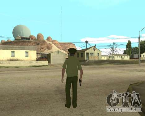 Senior warrant officer danyluk for GTA San Andreas third screenshot