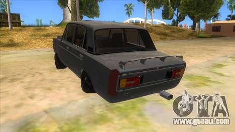 VAZ 2106 Drift Edition for GTA San Andreas back left view