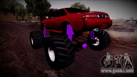 Nissan Silvia S14 Monster Truck for GTA San Andreas left view