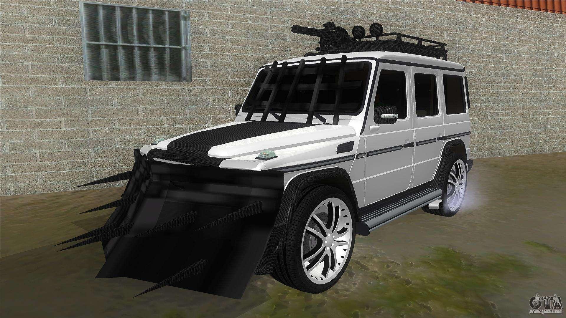 Mercedes Benz G55 Response For Gta San Andreas