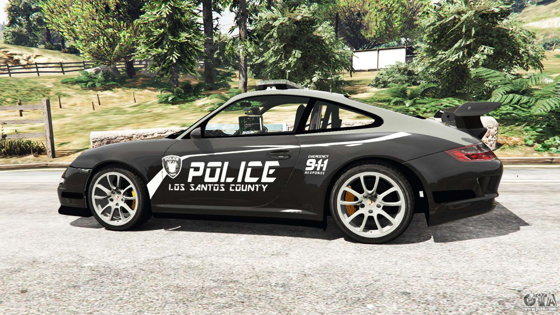 Porsche 911 Gt3 Rs Pursuit Edition For Gta 5
