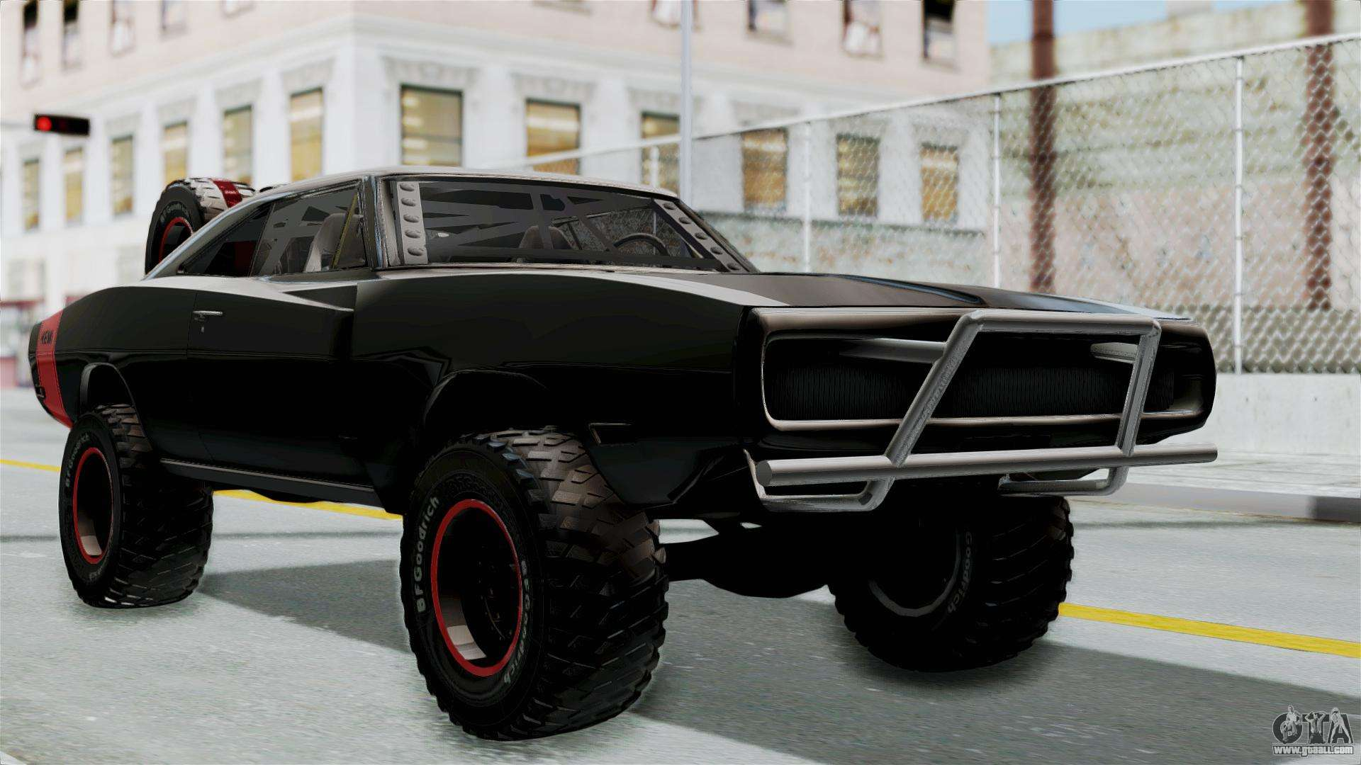 Dodge Charger 1970 Off Road F Amp F7 For Gta San Andreas