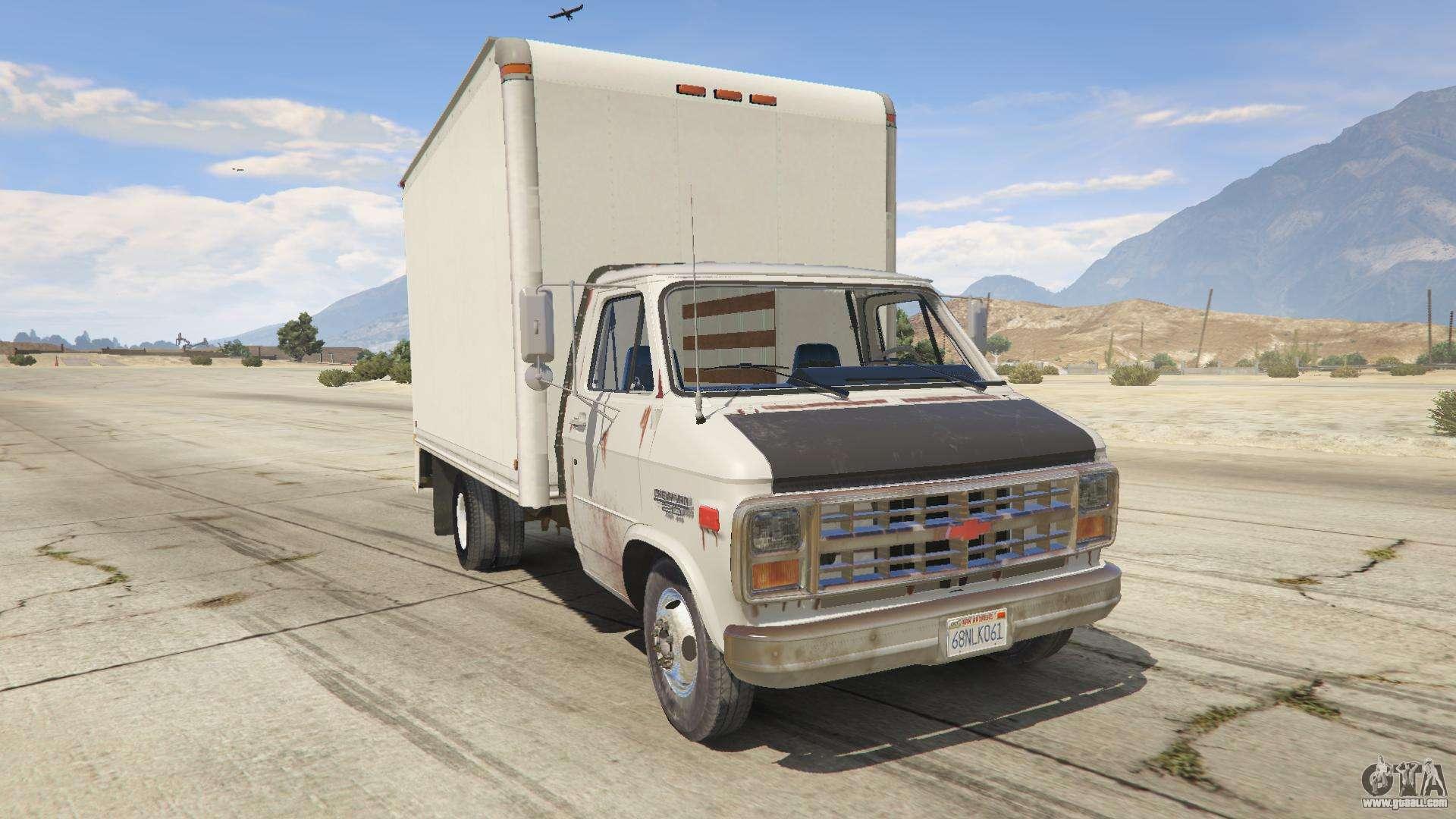 Chevrolet G-30 Cube Truck for GTA 5