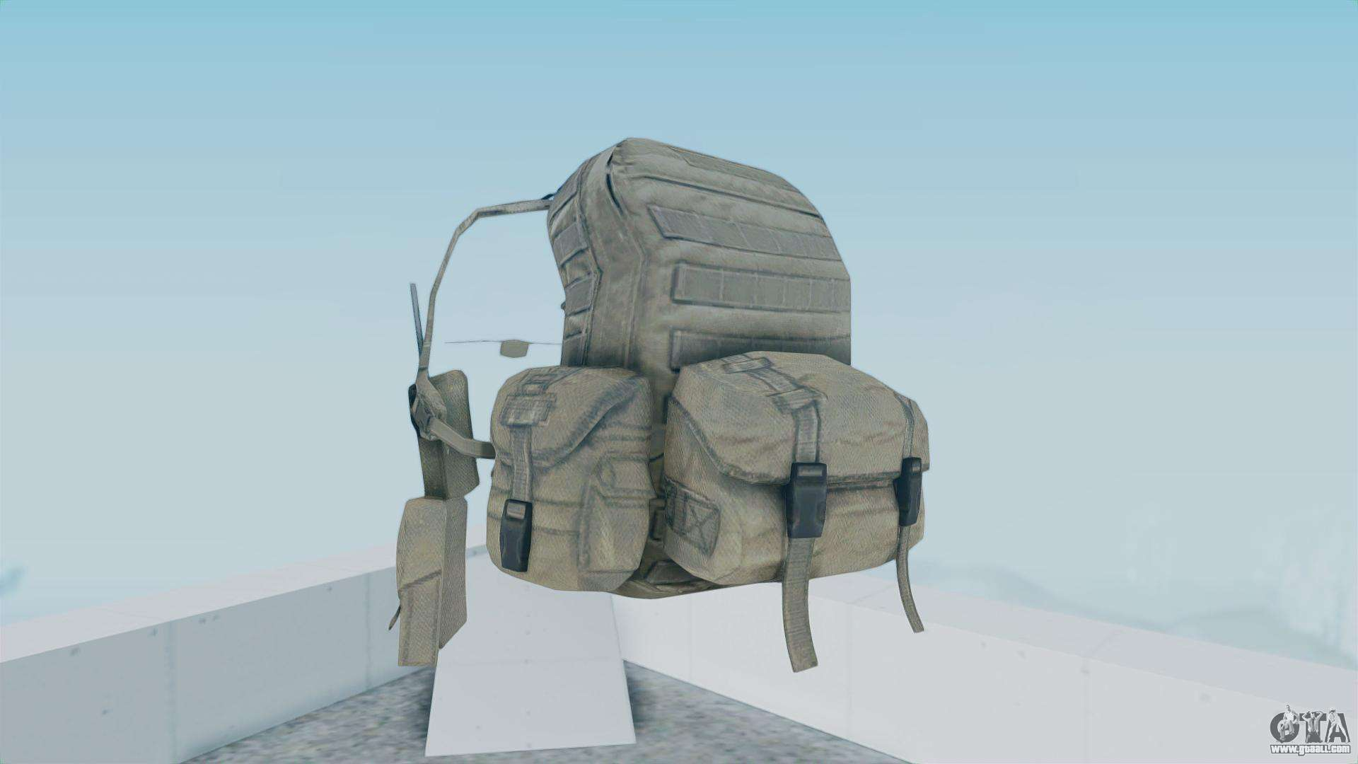 Arma 2 Backpack For Gta San Andreas