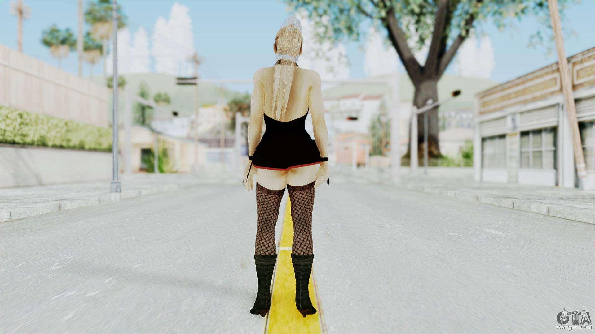 Christie Black Dress for GTA San Andreas