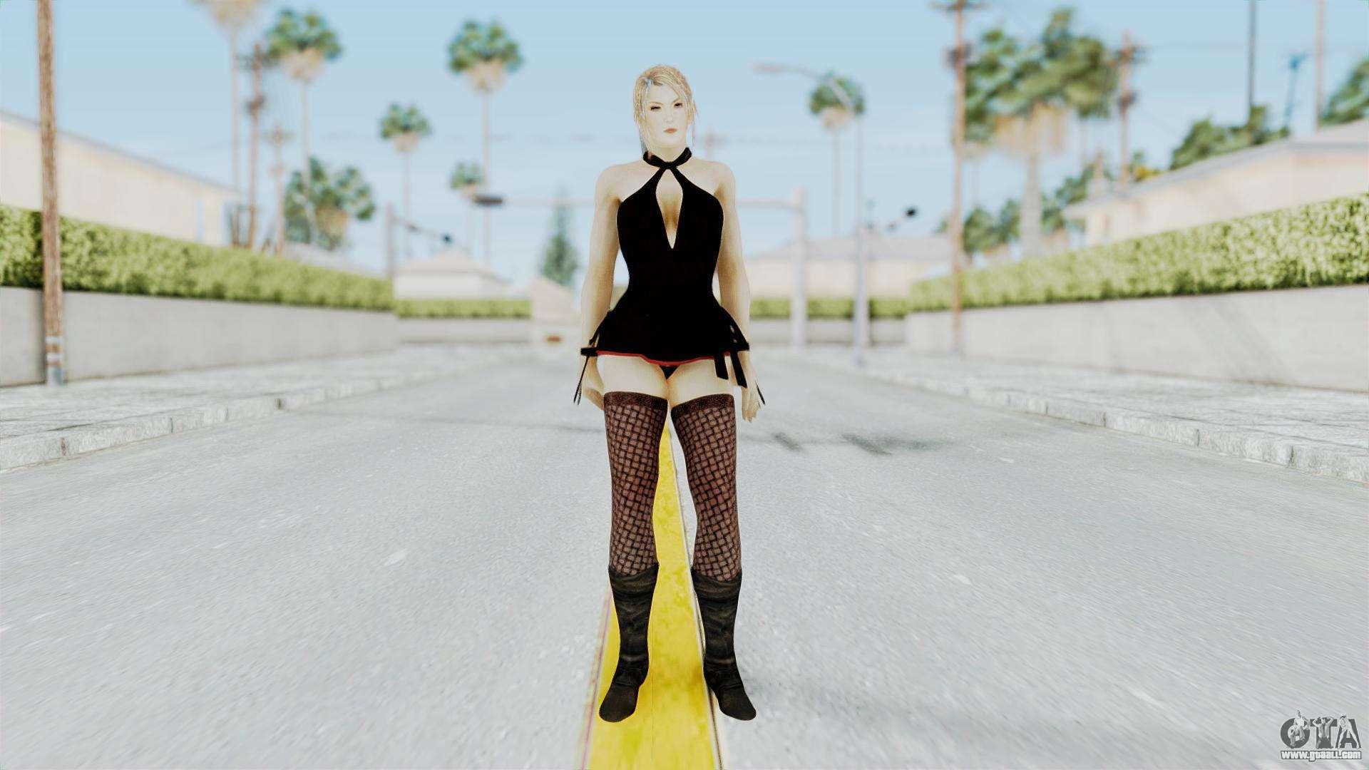 Christie Black Dress para GTA San Andreas