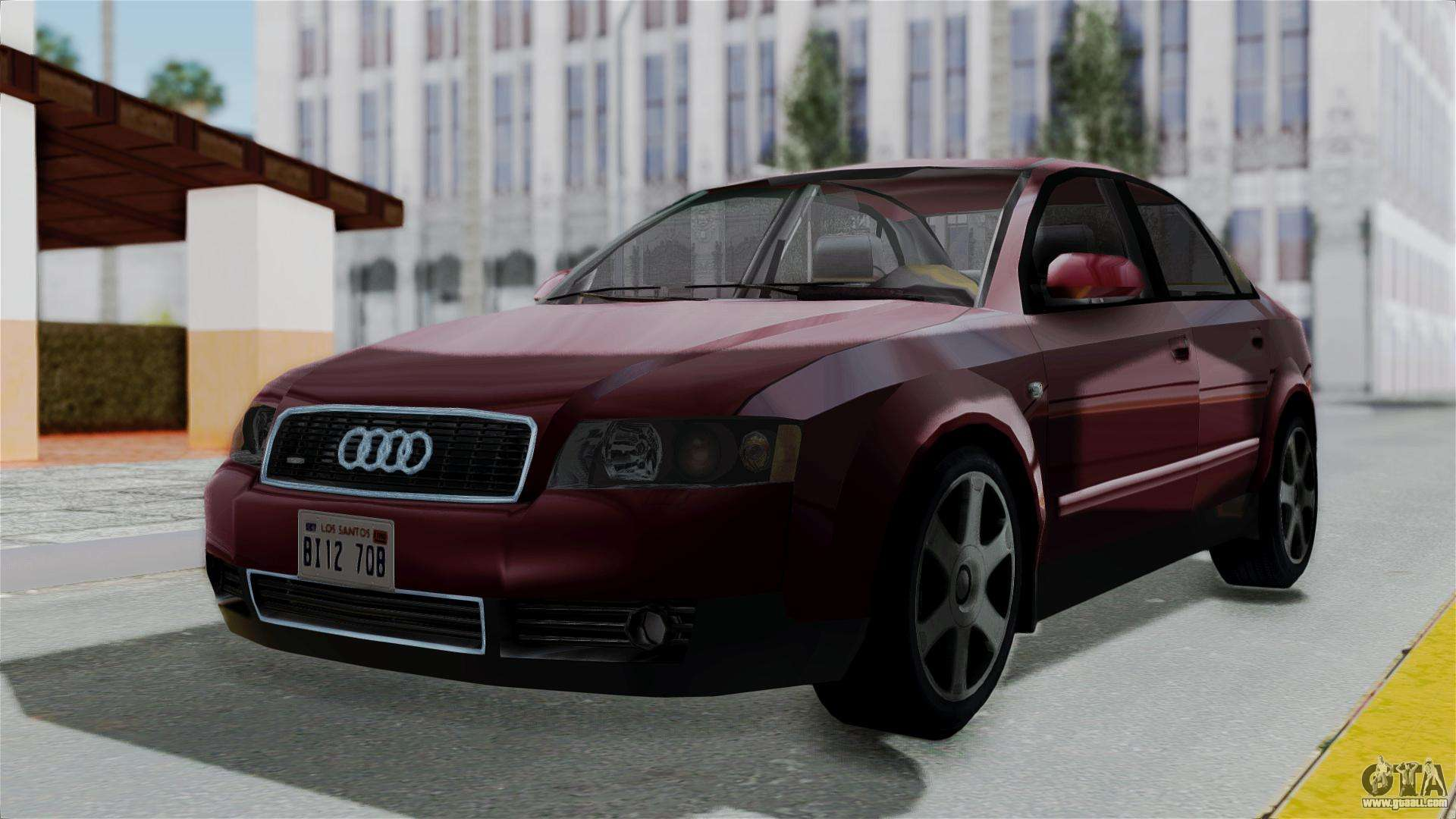 audi a4 for gta san andreas. Black Bedroom Furniture Sets. Home Design Ideas