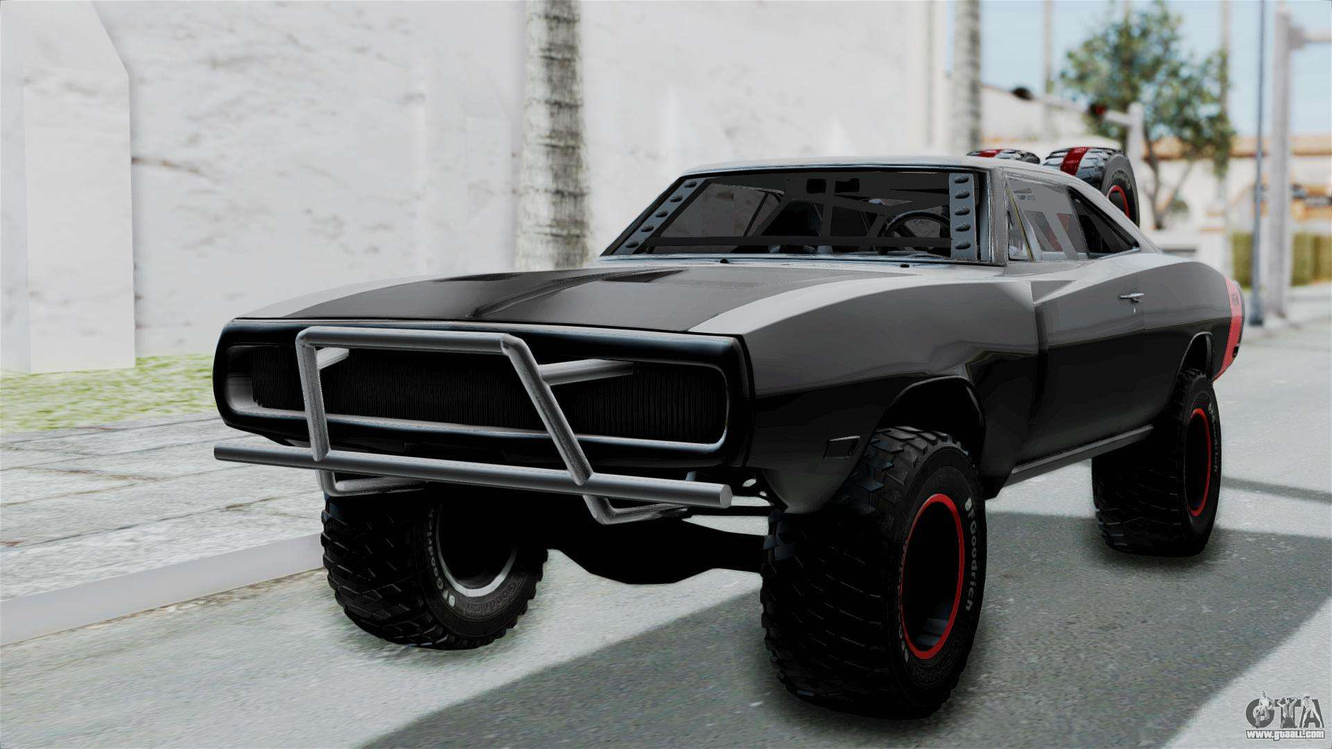 dodge charger 1970 off road f f7 for gta san andreas. Black Bedroom Furniture Sets. Home Design Ideas