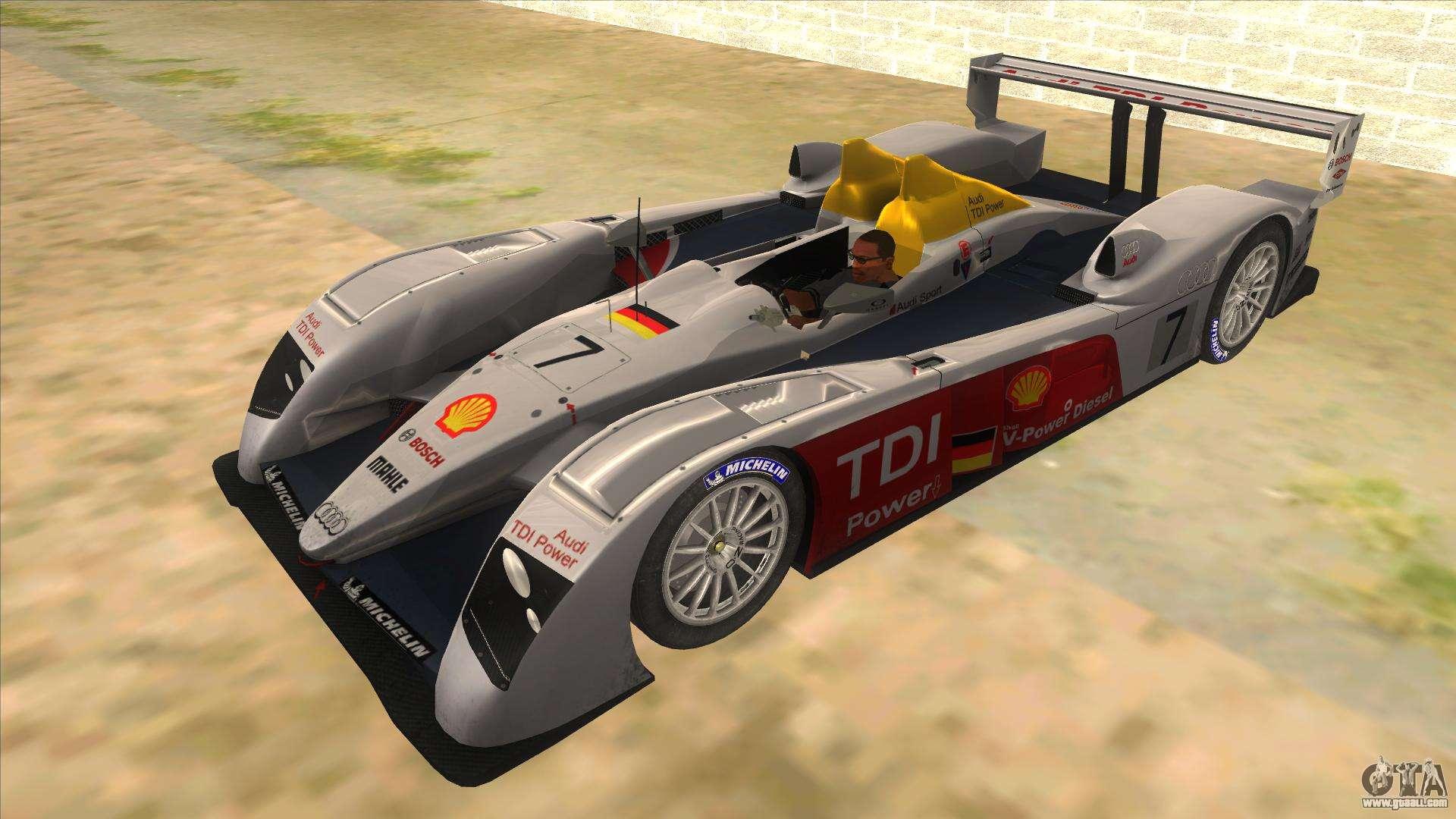 Audi R For GTA San Andreas - Audi r10