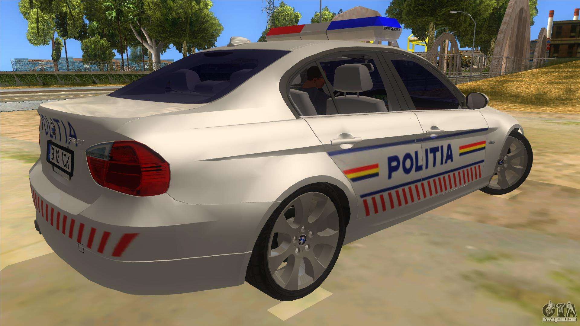 Gta  Police Realistic Car
