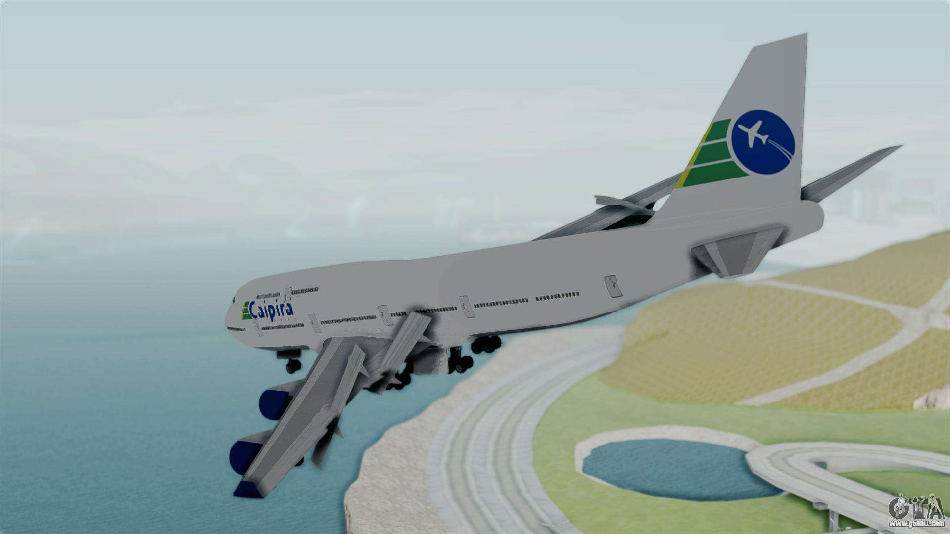 Jet Privato Gta 5 : Gta jumbo jet v caipira air for san andreas