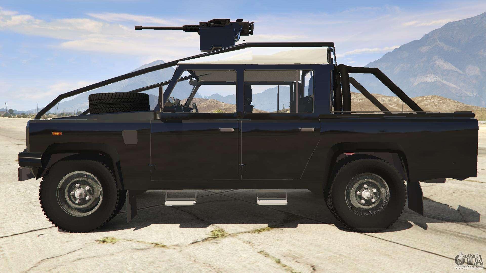 land rover 110 pickup armoured for gta 5. Black Bedroom Furniture Sets. Home Design Ideas