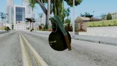 No More Room in Hell - Grenade for GTA San Andreas
