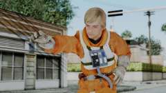 SWTFU - Luke Skywalker Pilot Outfit for GTA San Andreas
