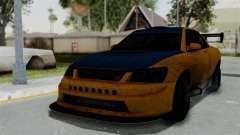 GTA 5 Karin Sultan RS Drift Big Spoiler