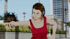 Hermione Dress for GTA San Andreas
