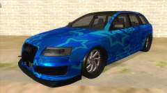 Audi RS6 Blue Star Badgged