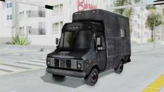 The police van from RE Outbreak