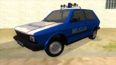 Yugo Koral Police for GTA San Andreas