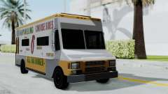 GTA 5 Tacovan for GTA San Andreas