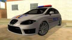 Seat Leon Cupra Romania Police for GTA San Andreas