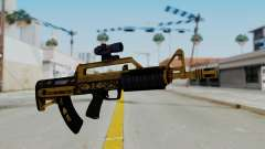 GTA 5 Online Lowriders DLC Bullpup Rifle for GTA San Andreas
