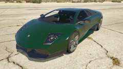 2010 Lamborghini Murcielago LP 670-4 SV for GTA 5